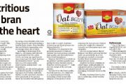 Oat BG22: Nutritious Oat Bran For The Heart